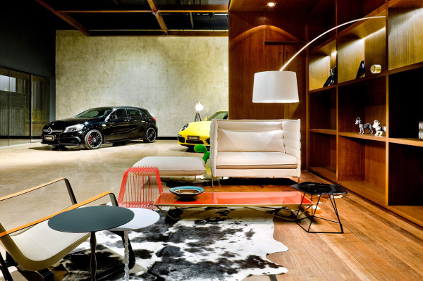 a new type of showroom for luxury cars design milk. Black Bedroom Furniture Sets. Home Design Ideas