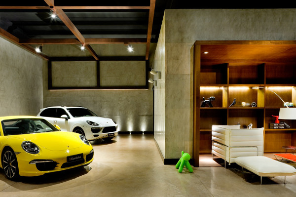Showroom Design a new type of showroom for luxury cars - design milk