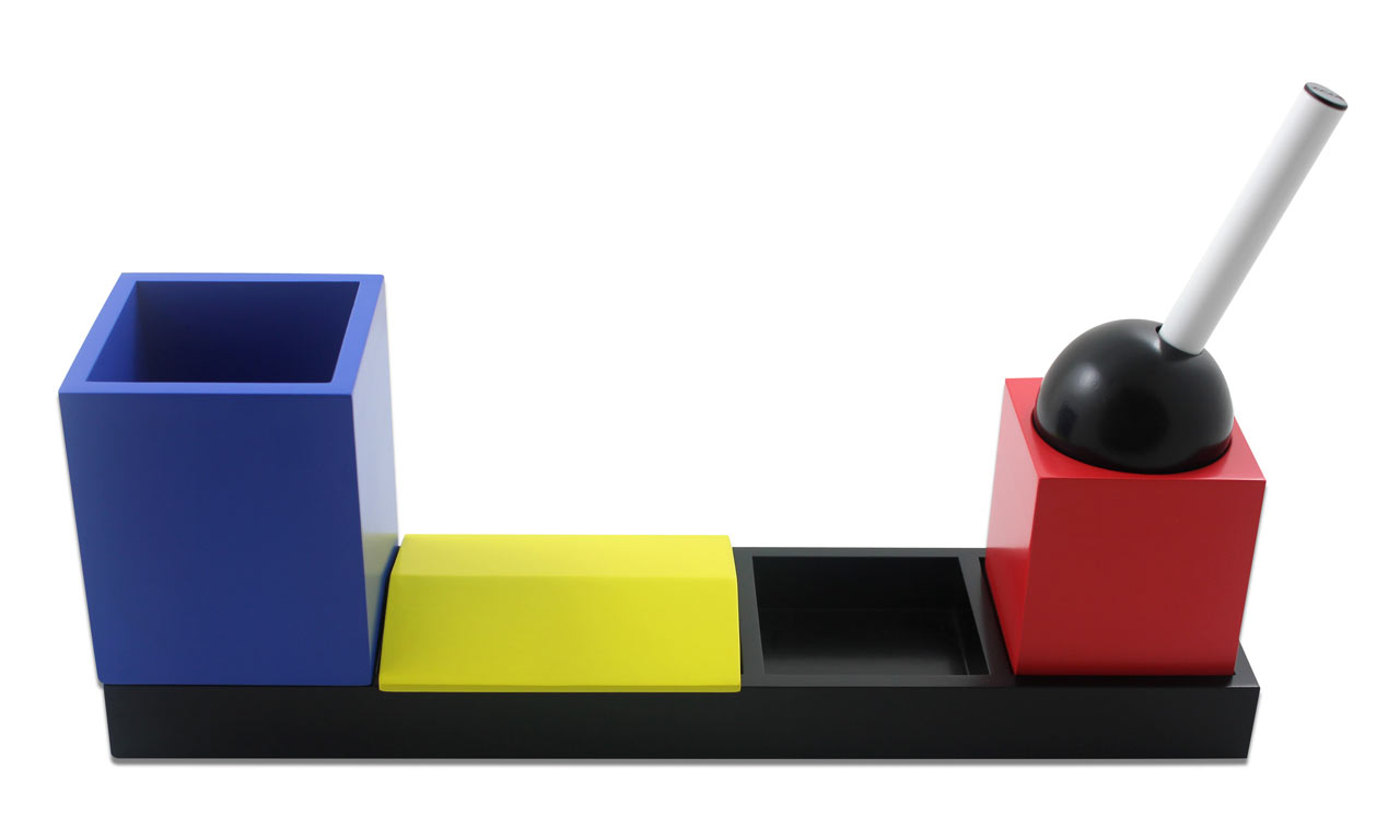 Desk Set Inspired by Vintage Toys & Bauhaus Colors