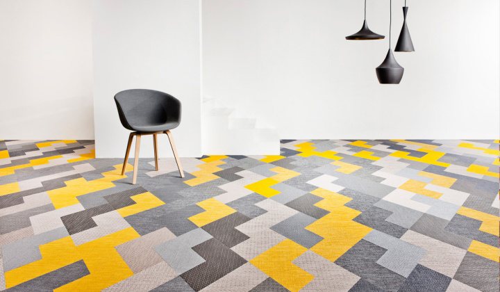 12 Rooms With Creative Tile Floors ...
