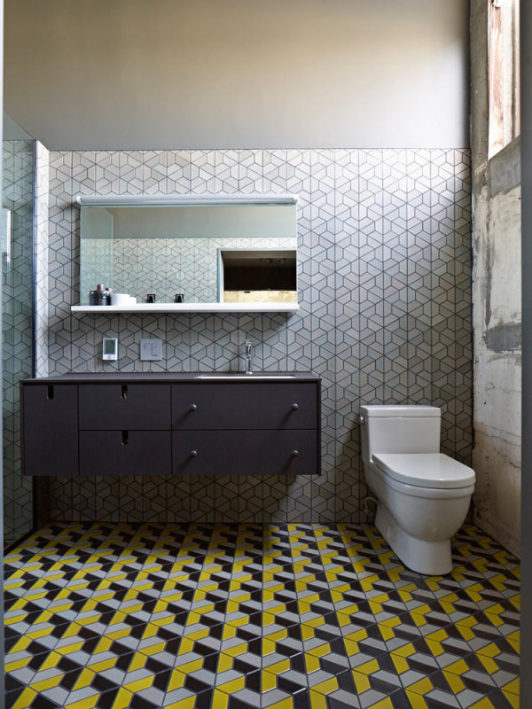 12 Rooms with Creative Tile Floors in main interior design home furnishings  Category