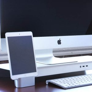 A Multifunctional iMac Stand For All Your Desktop Needs