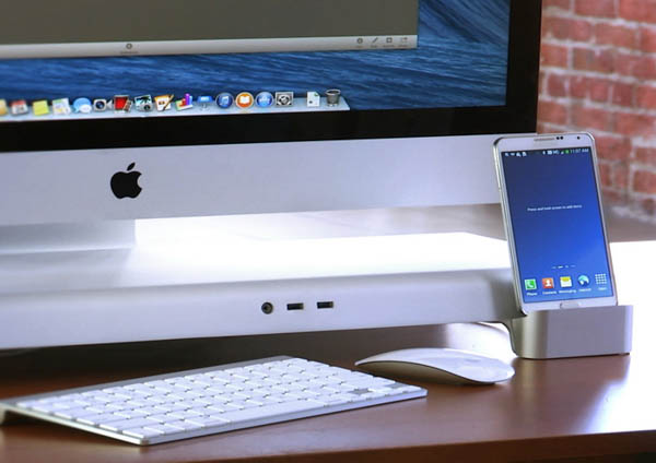 UNITI iMac Stand android dock