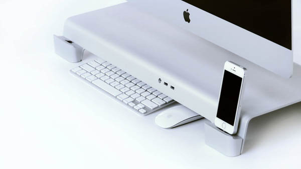 UNITI iMac Stand dock keyboard