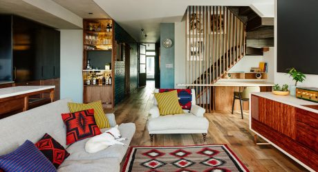 A Full Gut Renovation Merges Two Apartments into One