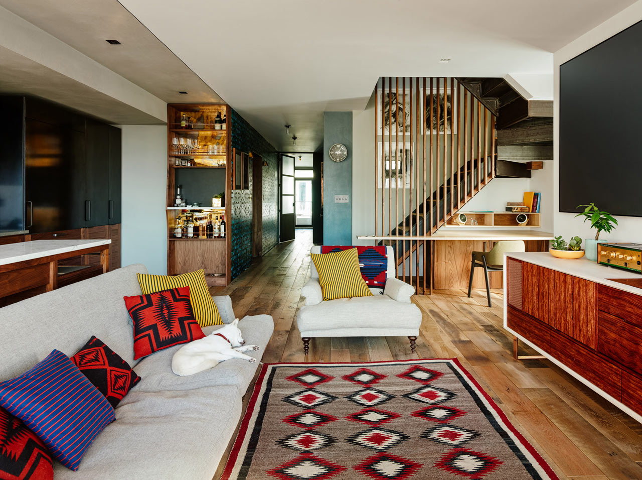 A full gut renovation merges two apartments into one - Brooklyn apartment interior design ...