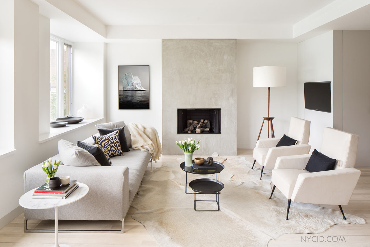 Interior Design Main A Modern Duplex In New York Citys West Village