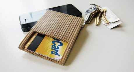 Woodstack Wallets by Burnt Edge Design