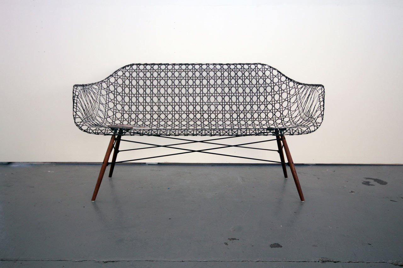 Carbon Fiber Eames Sofa By Matthew Strong ...