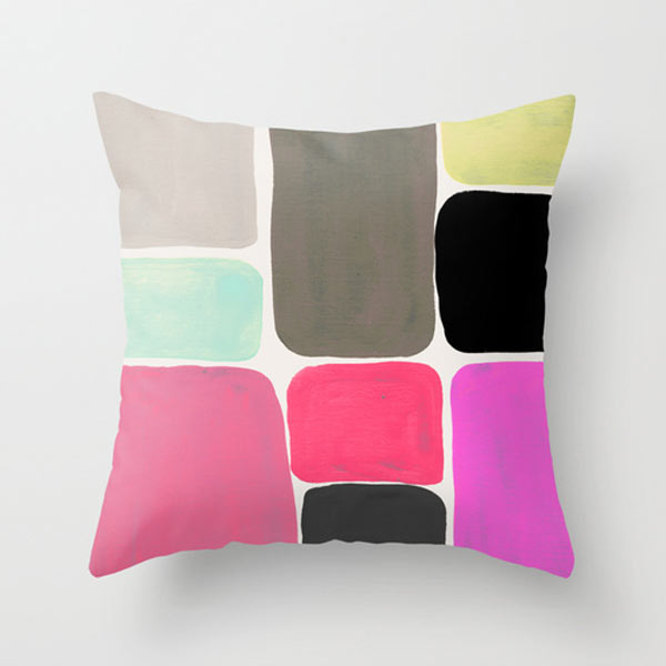 fresh from the dairy shape pillows