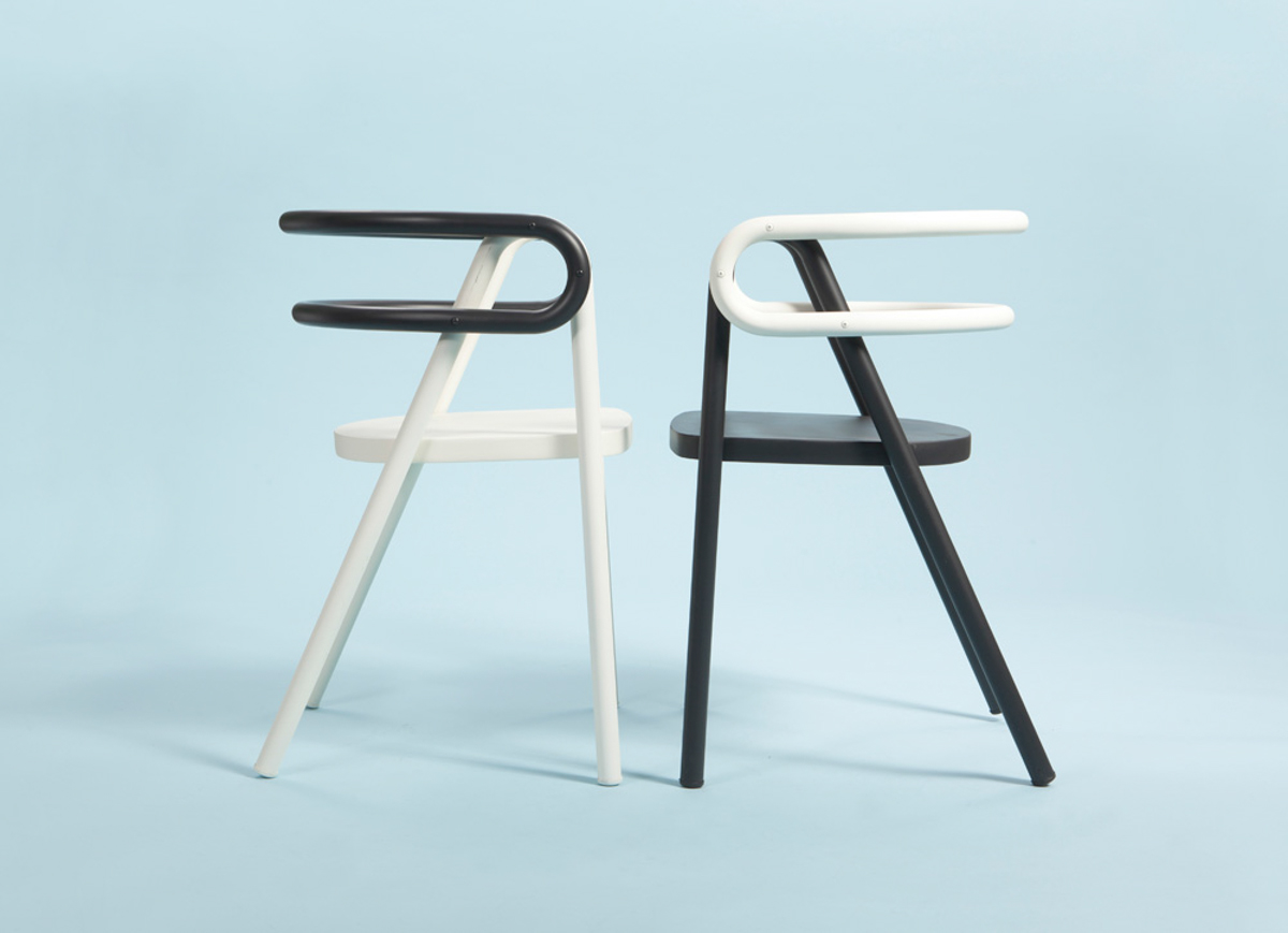 Chair Compositions by Bakery Studio - Design Milk