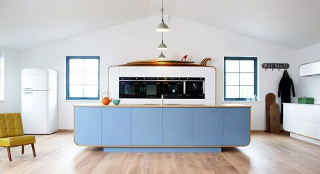 Retro Contemporary Kitchens Inspired by Vintage Classics