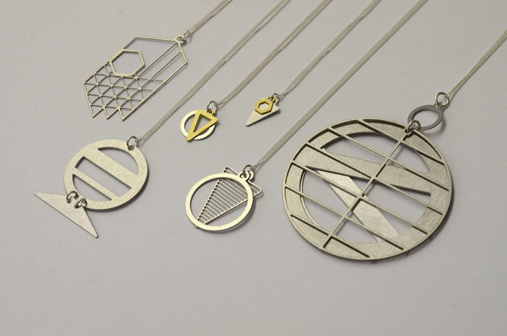 Modern Jewelry Inspired by Architect Louis Kahn Design Milk