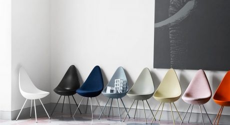 Drop Chair Reintroduced by Fritz Hansen