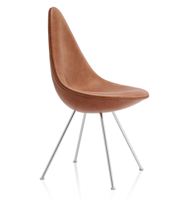 Drop Chair Reintroduced by Fritz Hansen in main home furnishings  Category