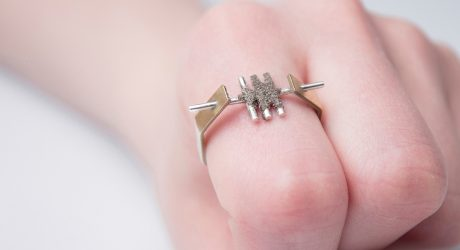 A Jewelry Collection Featuring An Unusual Material, Dust