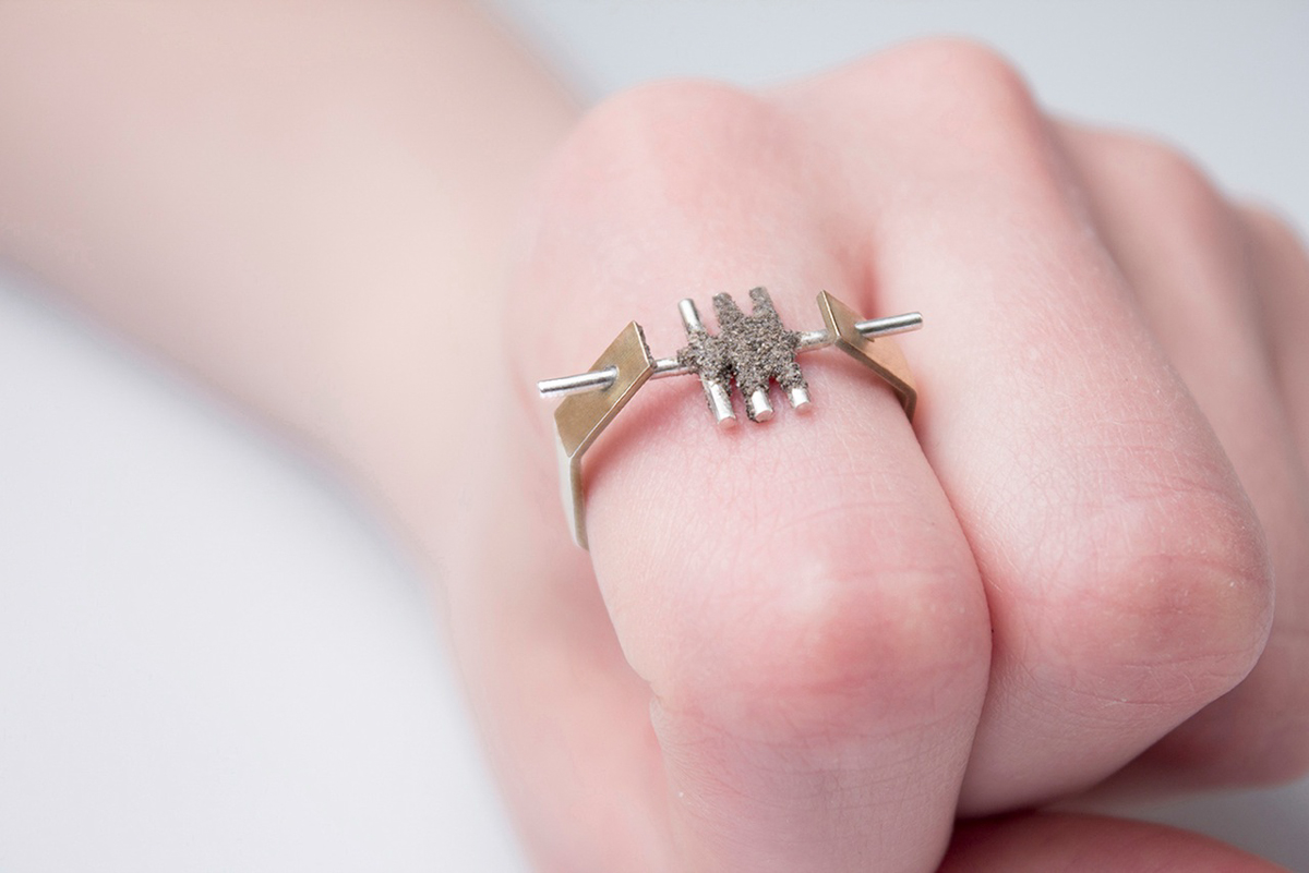 A Jewelry Collection Featuring An Unusual Material, Dust - Design Milk