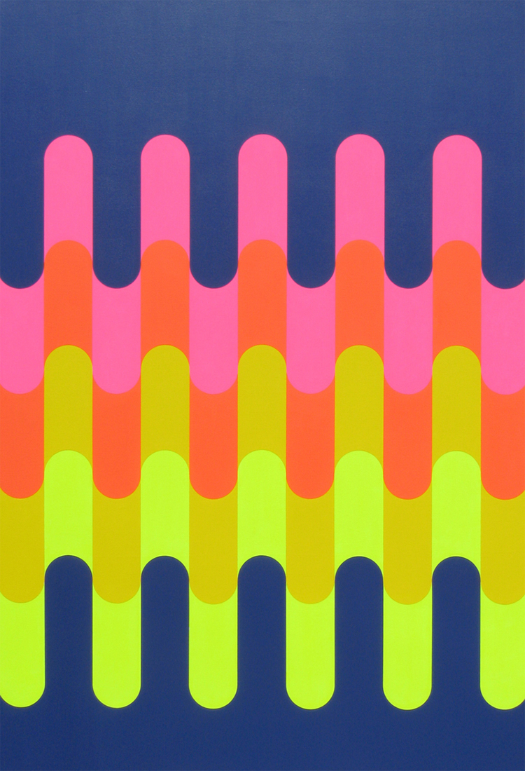 Meltdown / 2011 / 70 x 48 inches / Acrylic on canvas