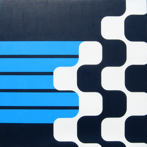 Sapion / 2011 / 48 inches square / Acrylic on canvas