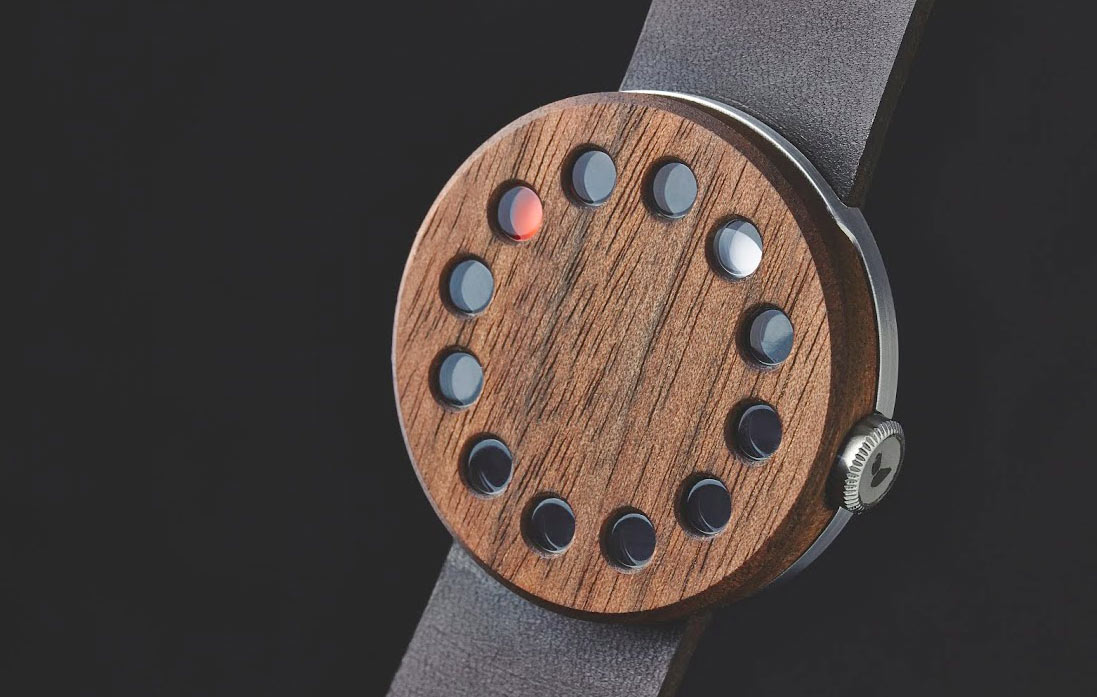 Grovemade's Wood Watch