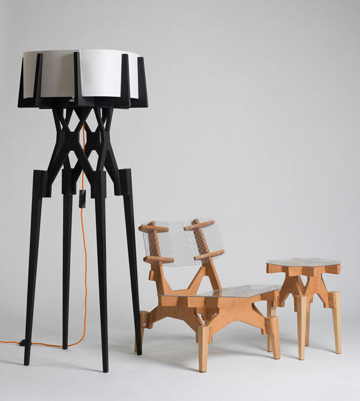 Lese Series and Electron Chair by Konstantin Achkov