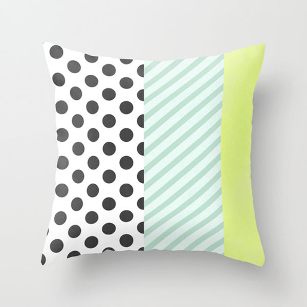 polka-dot-striped-pillow-melon