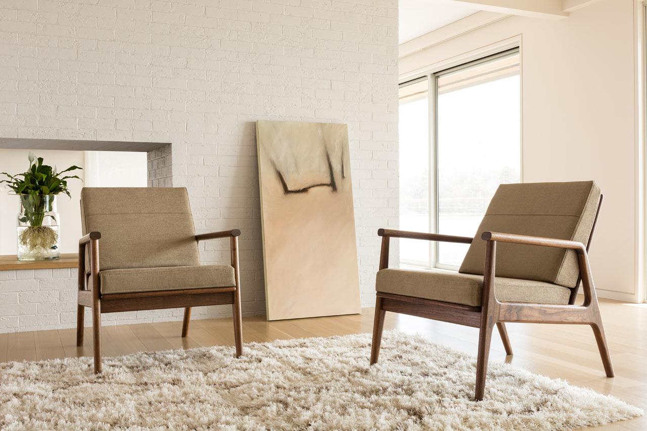 Thos. Moser Introduces the Fahmida Chair