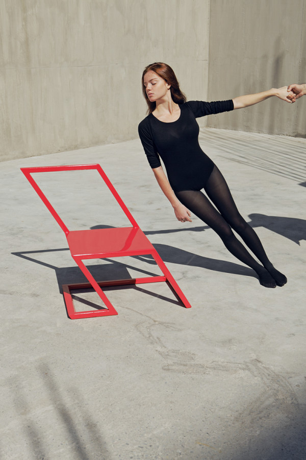 60 Red Chair-1