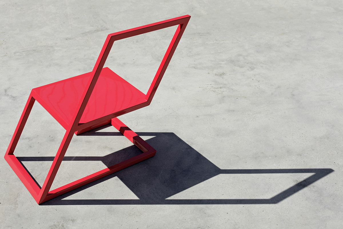 Sit On the Edge of Your Seat with the 60 Red Chair