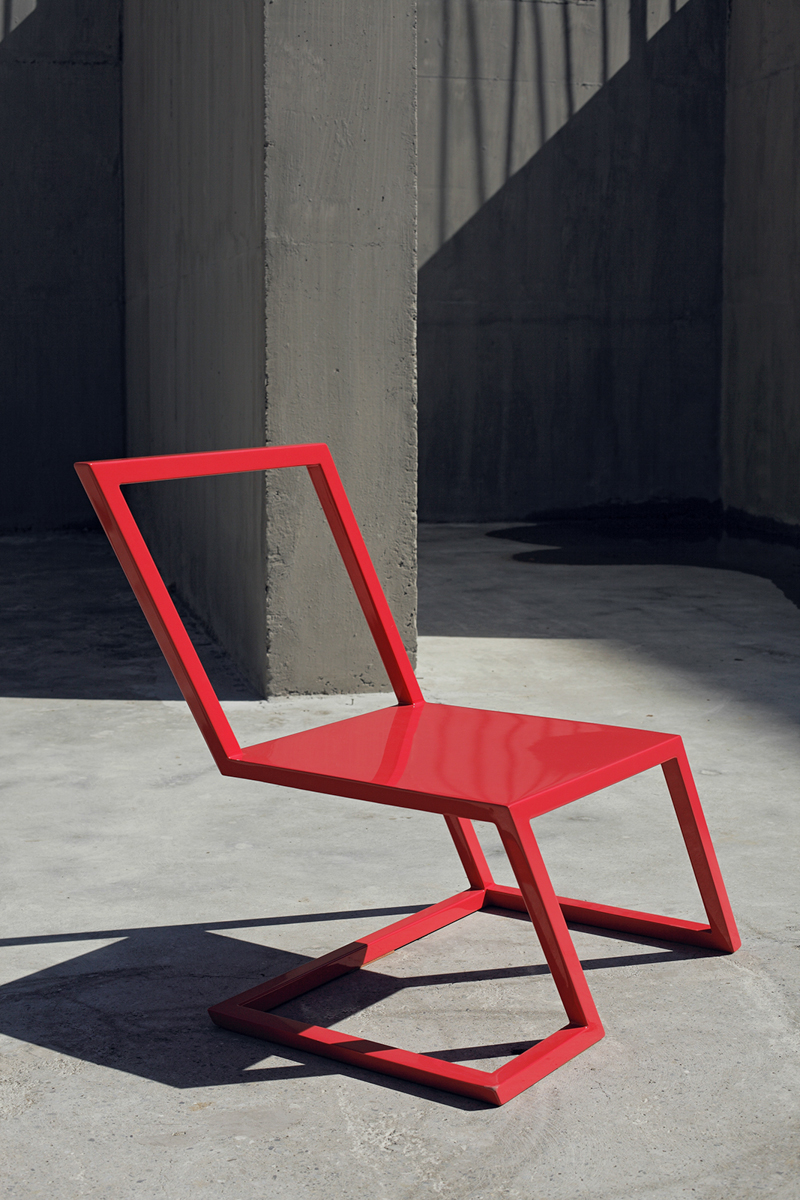 60 Red Chair-7