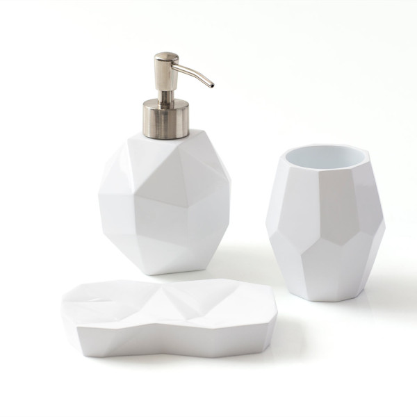 Ideal  by Novogratz Walmart KALEIDOSCOPE BATH ACCESSORIES SILO