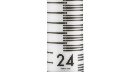Countdown the Days to Christmas with This Graphic Candle