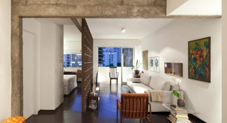 A Brazilian Apartment with Historic, Modernist Details