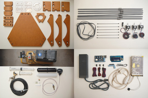 Keep shares plans, materials, software, and insight about how to make/use your own DIY Delta Printer for ceramics for those inclined to follow his experiments.
