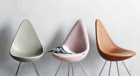 Arne Jacobsen's Drop Chair Comes Back to Life