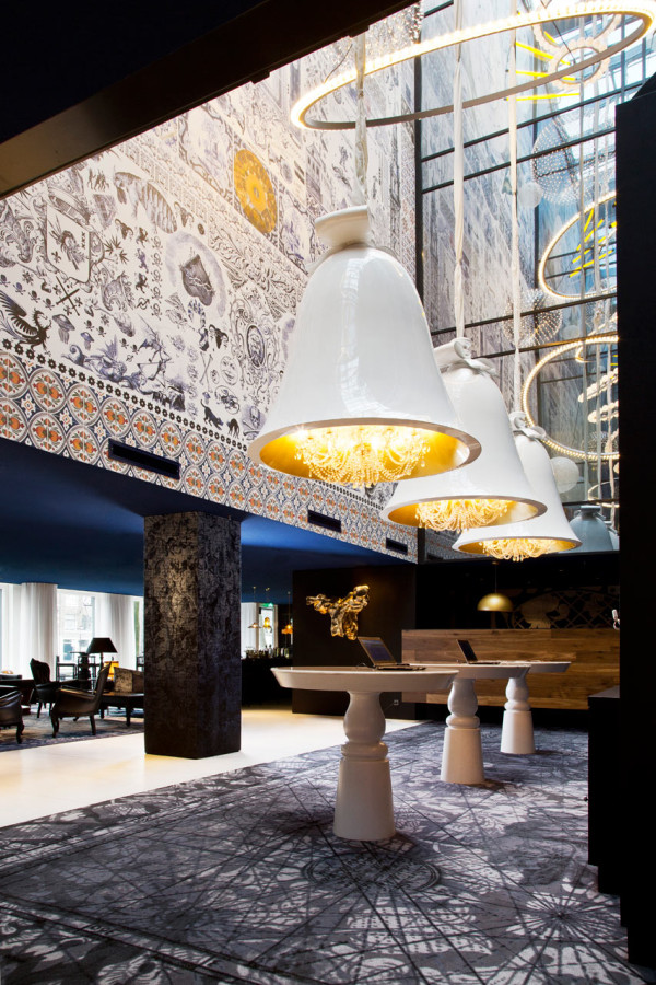 A modern hotel in amsterdam with dutch history design milk for Hotel design amsterdam