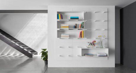Dots: A Modular Storage Wall by ARIS Architects