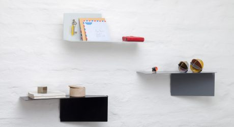 Plateau: Adaptable Wall Shelves by Felix Klingmüller for ECHTSTAHL