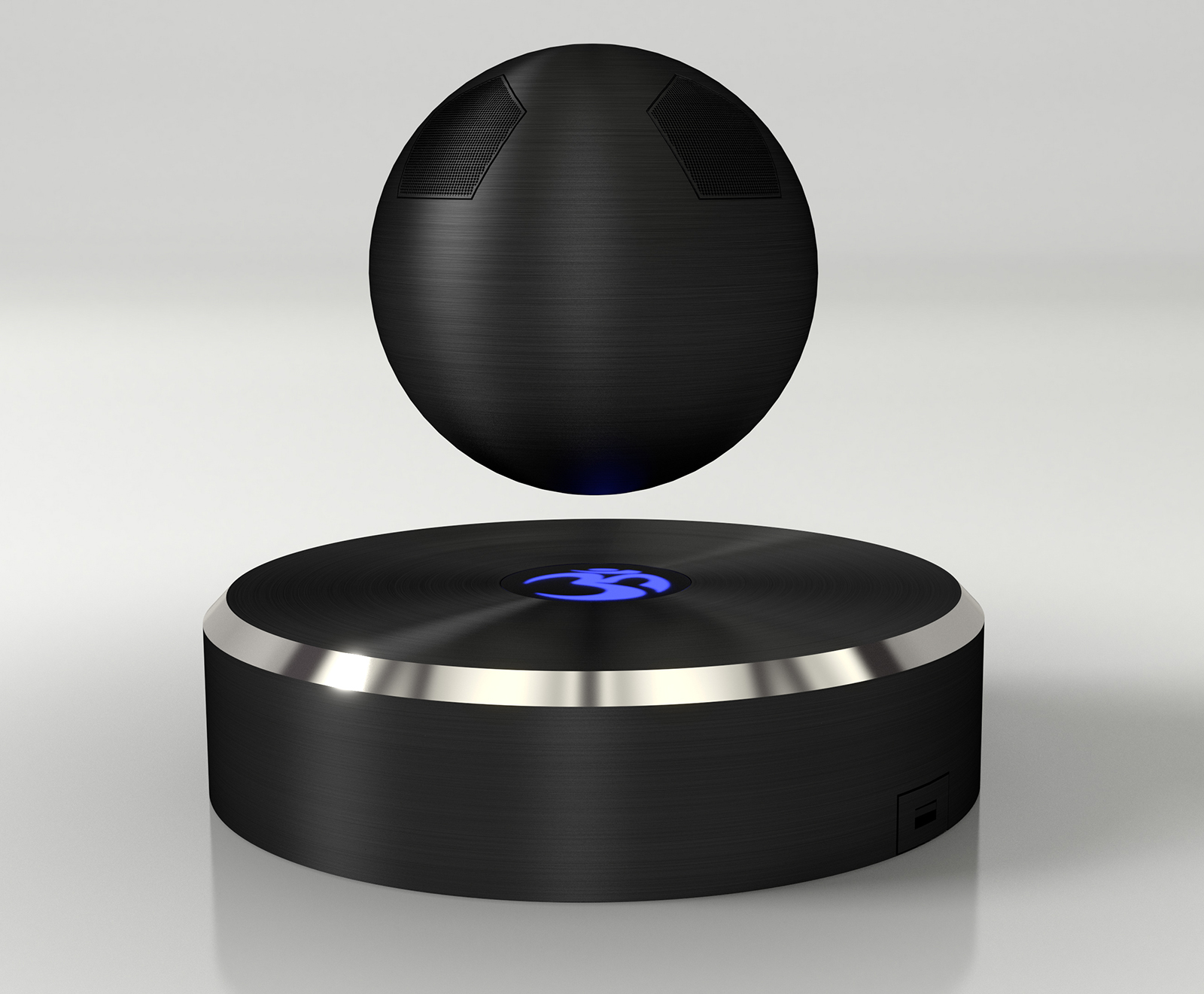 An Isolated Case: OM/ONE Is World's First Levitating Bluetooth Speaker