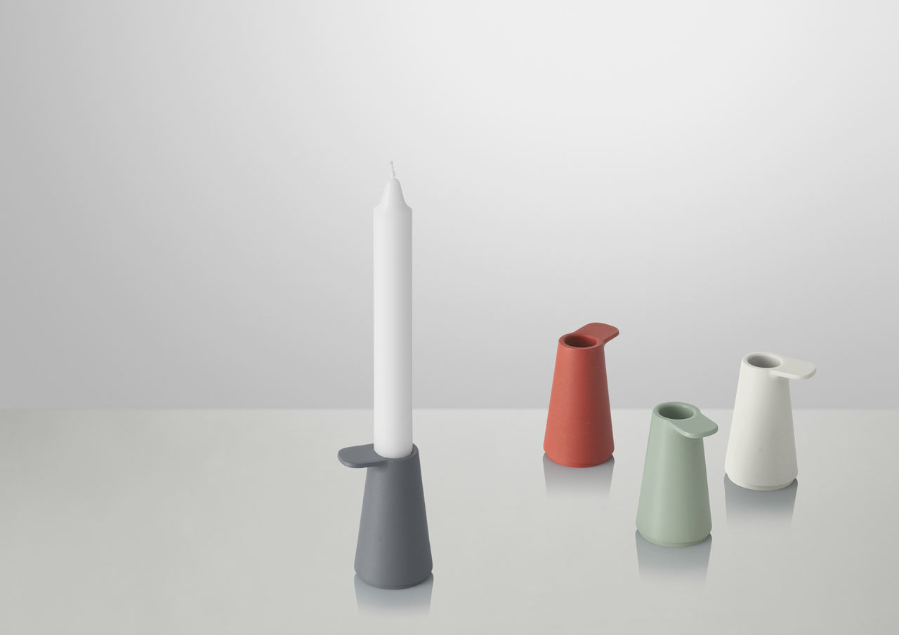 GRIP Candlestick by Jens Fager for Muuto