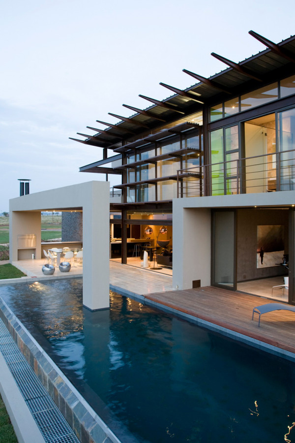 A South African Villa with Earthy Textures & Rich Finishes in main interior design architecture  Category