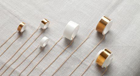 Hula Bone China Jewelry Debut Collection by Reiko Kaneko