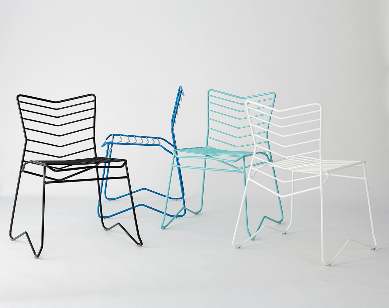 Kai: A Stackable, Wire Frame Chair By Daniel Lau ...
