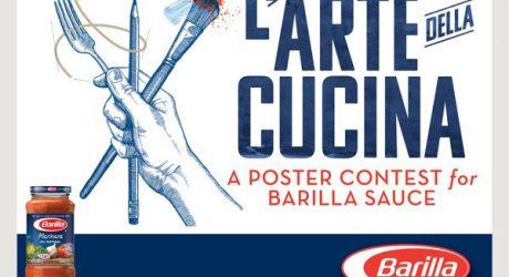 L'Arte della Cucina Poster Design Contest from Barilla
