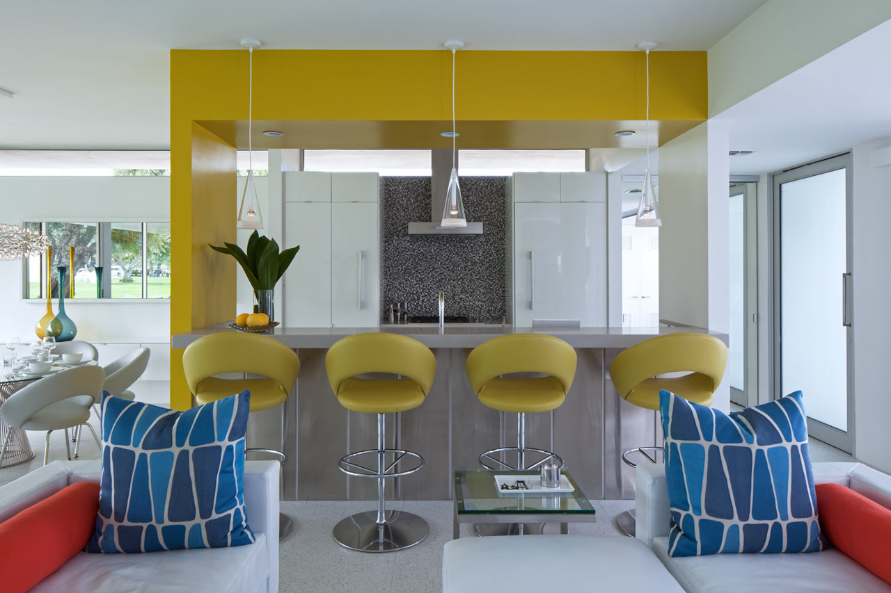 Interior design home tour palm springs - Architecture Interior Design Main An Updated Mid Century Palm Springs Retreat