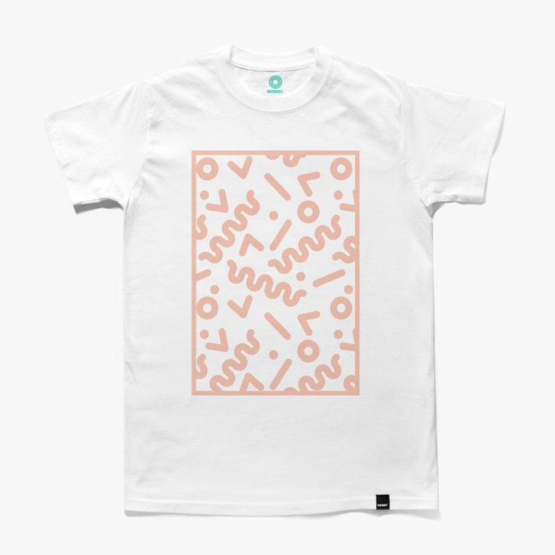 NOWAY pattern-pink