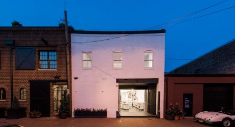 An 1800's Horse Stable Becomes a Studio with a Home Above