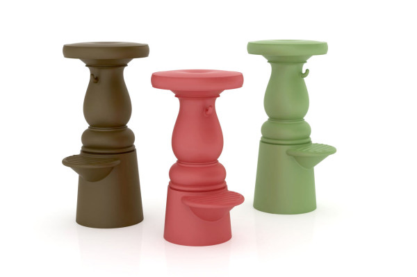 A Barstool with Both Modern and Antique Charm in main home furnishings  Category