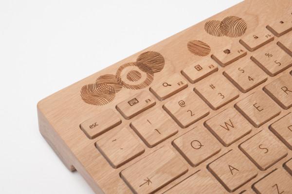 Oree wood keyboard