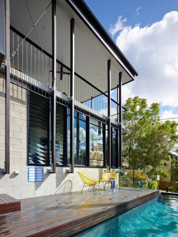 Contemporary Home in Historical Australian Neighborhood - Design Milk